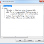 Fabrication For AutoCAD MEP V6.1 – Duct Status
